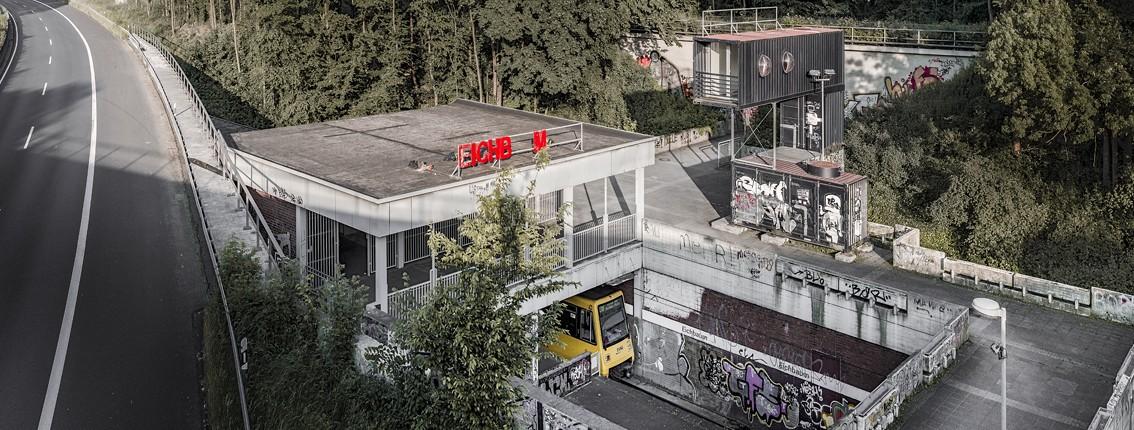 """Foto """"EICHBAUM"""" von Max Schulz aus der Ausstellungsankündigung """"STAND DER DINGE"""" (13.September 2014 in der Kunststadt Mülheim)"""